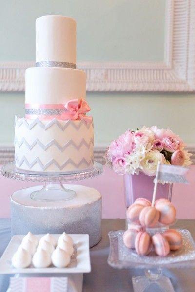 53f7c99dcb5 mariage rose gris idée candy bar décoration Carnet d inspiration mariage  Mademoiselle Cereza