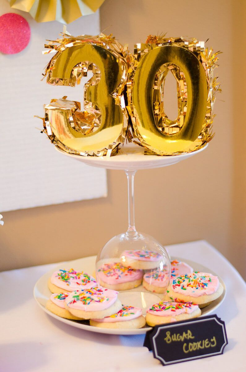 Dotty Thirty Birthday Party RDPix Photography