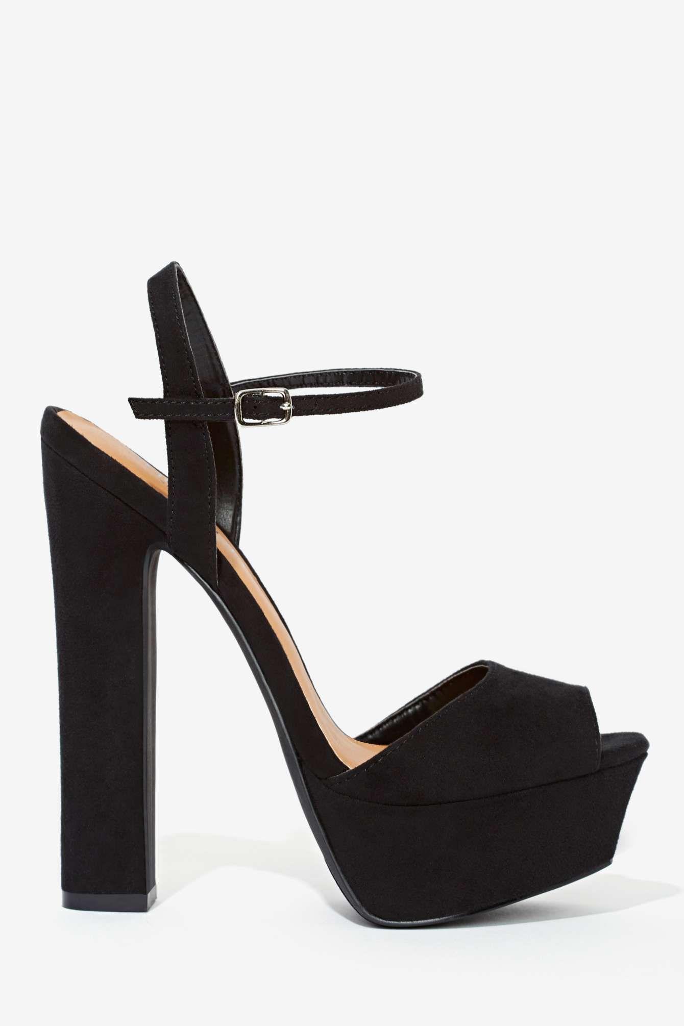 b7bd019a11d Shoe Cult Eva Platform - Black