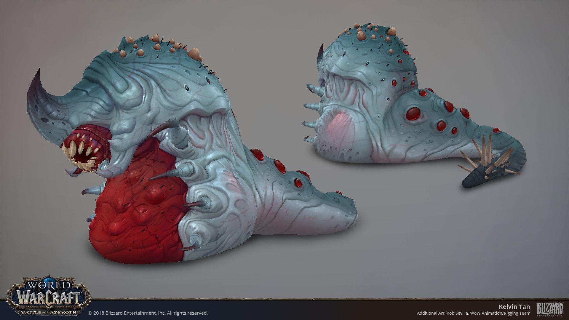 Artstation World Of Warcraft G Huun Kelvin Tan World Of