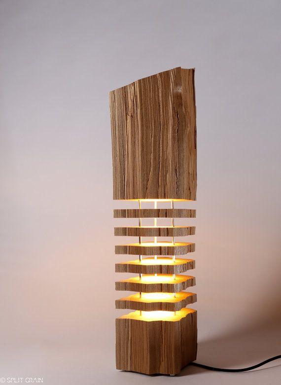 Modern Lighting Wood Light Sculpture | Lampen | Pinterest ...