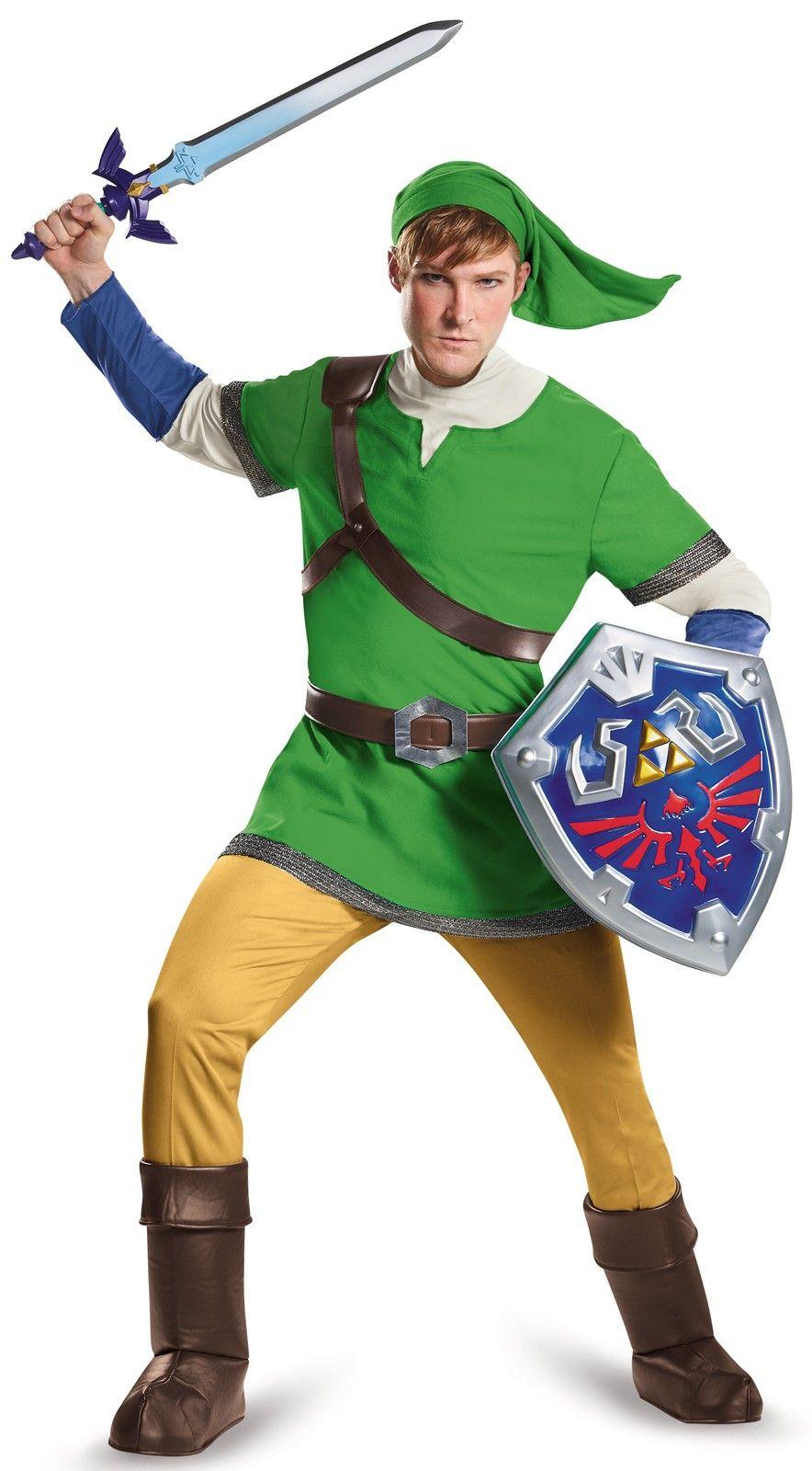 The Legend of Zelda Link Deluxe Adult Costume Link