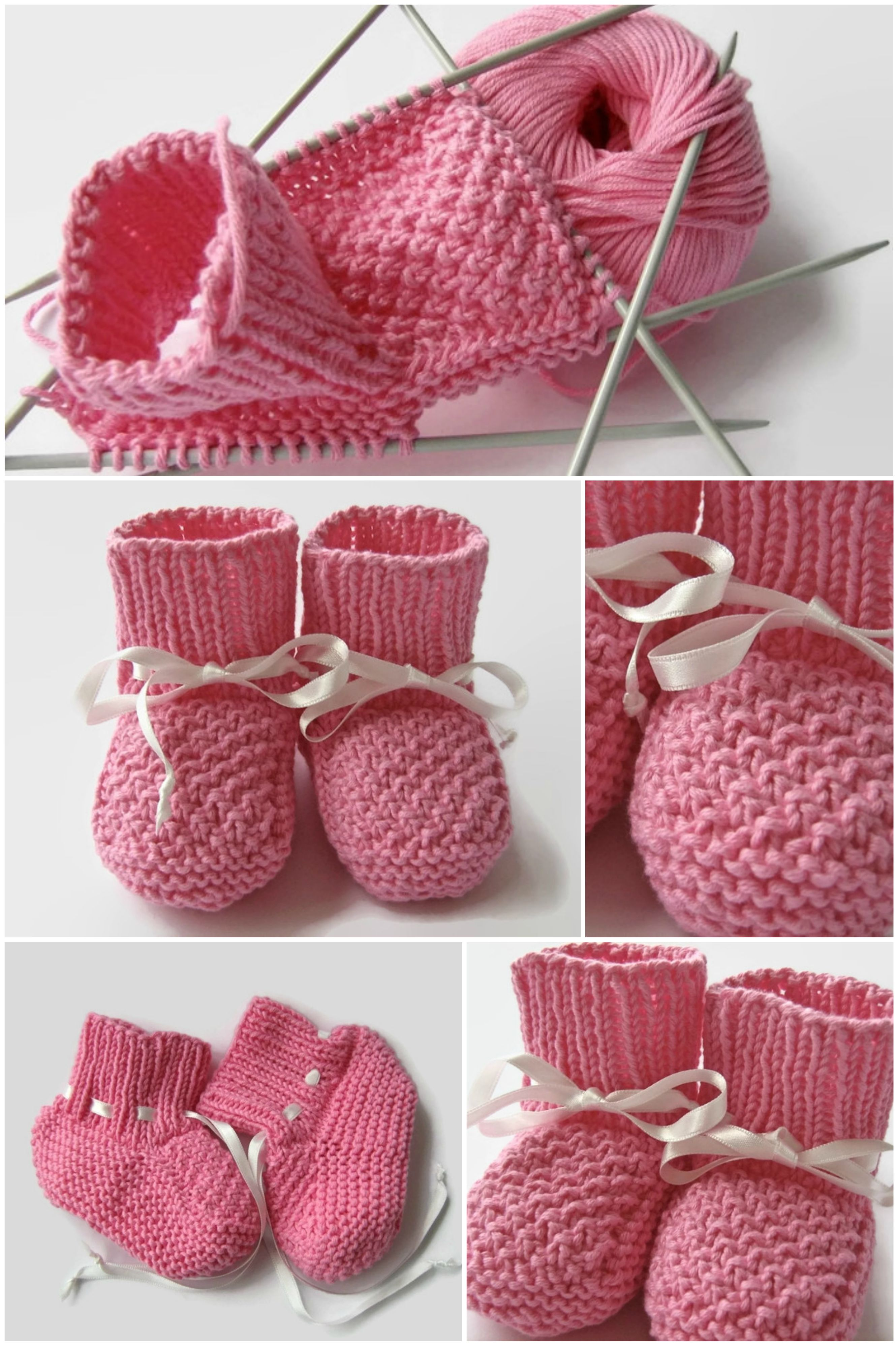 Knit Baby Girl Shoes,Baby Girl Booties,Newborn shoes(size 0-8M),Baby ...