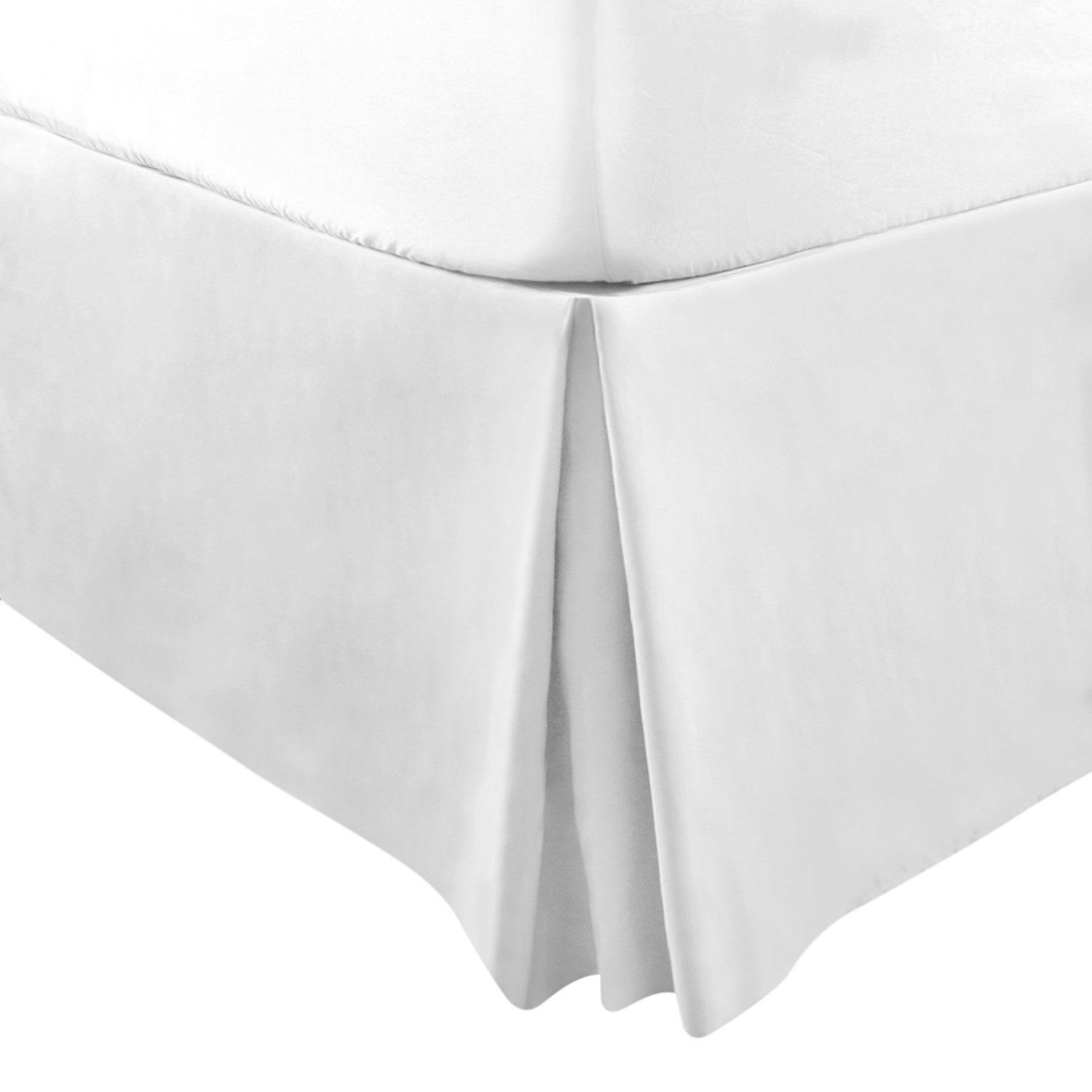 Bed Skirt 15 Inch Fall Brushed Microfiber Bed Wrap With Platform