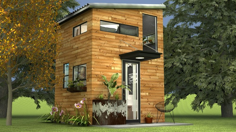 3f7890c8241200fcccce6336b1aeb41e - Download Small House With Attic Exterior Design Background