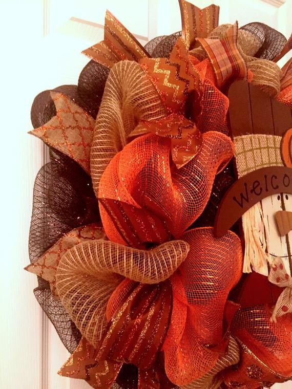 2 left!! Scarecrow wreath, fall decomesh wreath, Halloween wreath, Autumn wreath, Halloween decor, Thanksgiving wreath, fall wreath #scarecrowwreath 2 left!! Scarecrow wreath, fall decomesh wreath, Halloween wreath, Autumn wreath, Halloween decor, T #scarecrowwreath