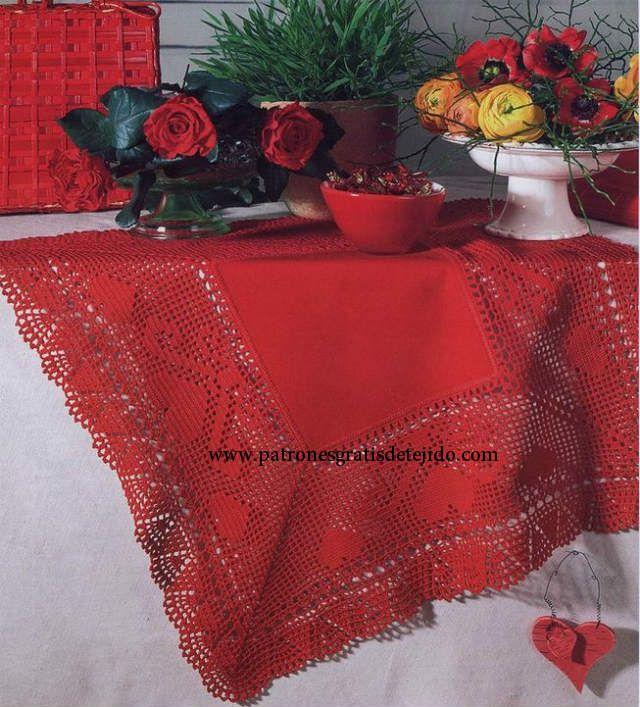 17 Patrones de Carpetas Crochet / Free Crochet Doily Patterns ...