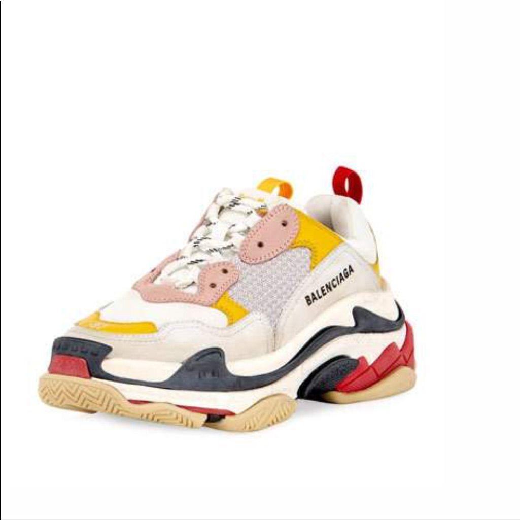 Off White x Nike Air Jordan x Balenciaga Triple S Sneaker 35