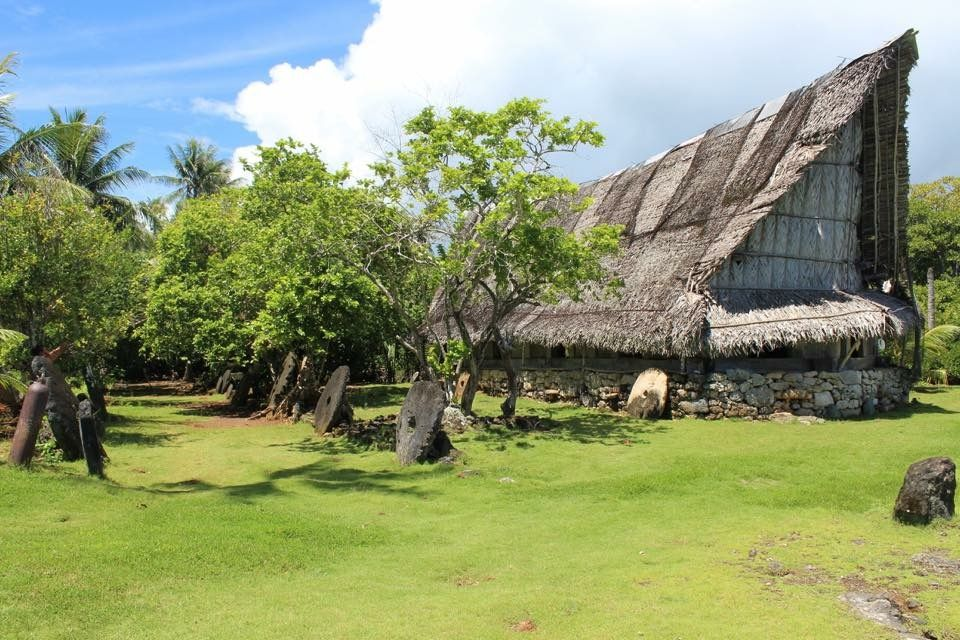 Yap Micronesia  Maa' Tomil ,