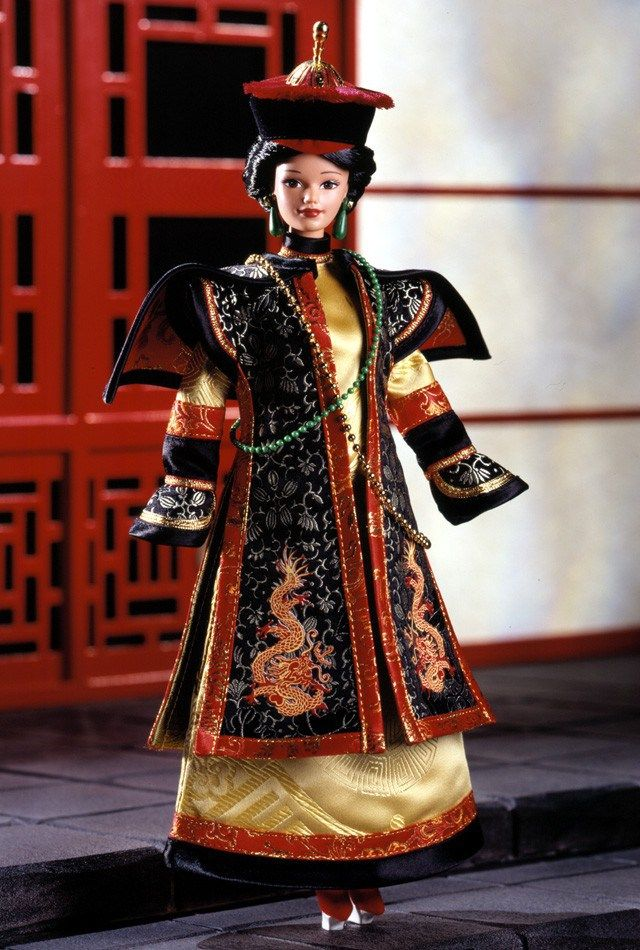 Chinese Empress Barbie Doll