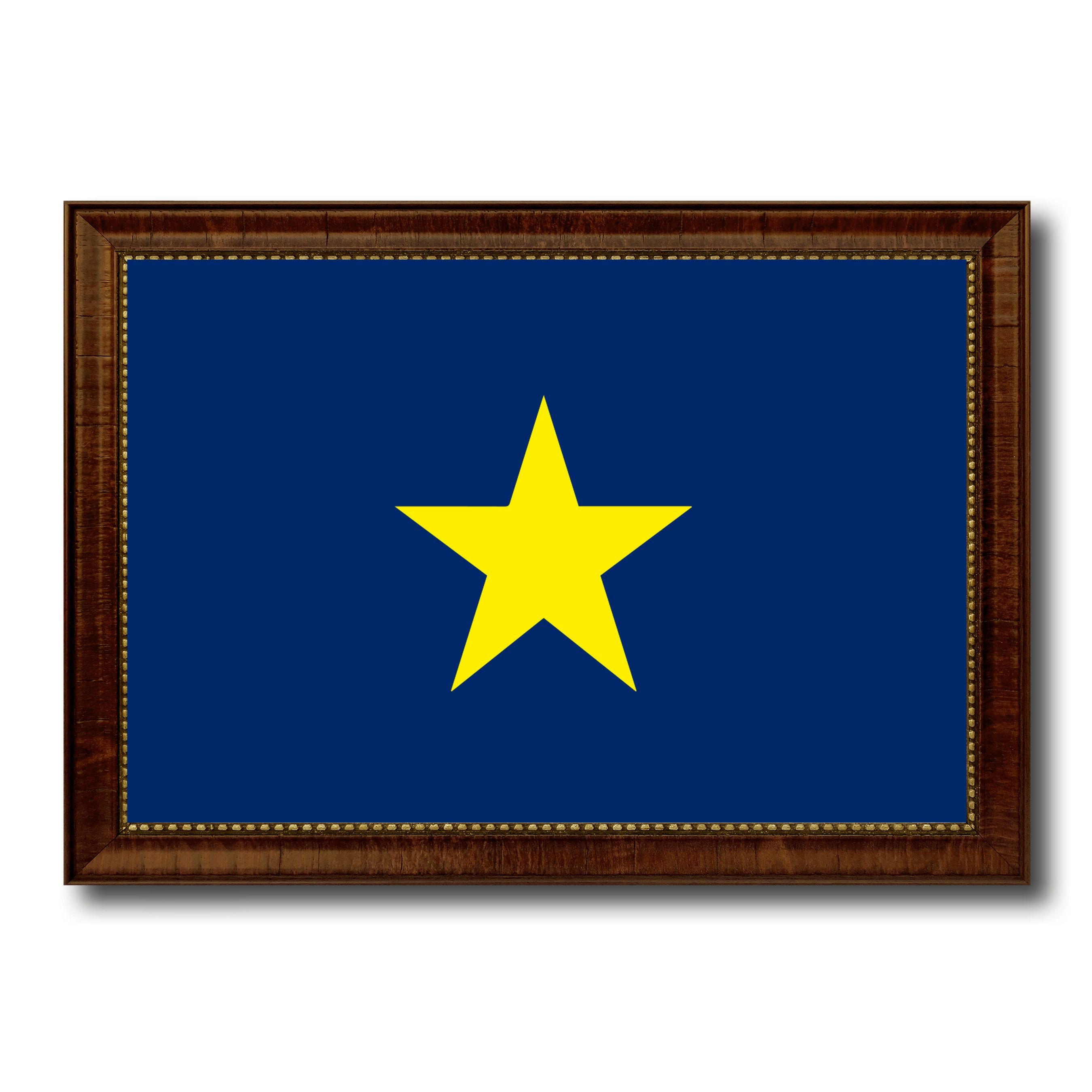 Burnet\'s 1st Texas Republic 1836-1839 Military Flag Canvas Print ...