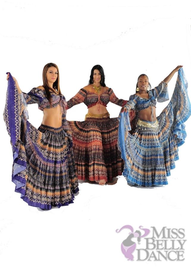 25 Yard Belly Dancer Skirt: Get your troupe noticed in this, perfect for any bellydance hafla with this 25 yards full skirt that spins wide and has a stretchy waist.