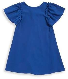 Sally Miller Girl's Butterfly Sleeve Dress #sallymiller Sally Miller Girl's Butterfly Sleeve Dress #sallymiller