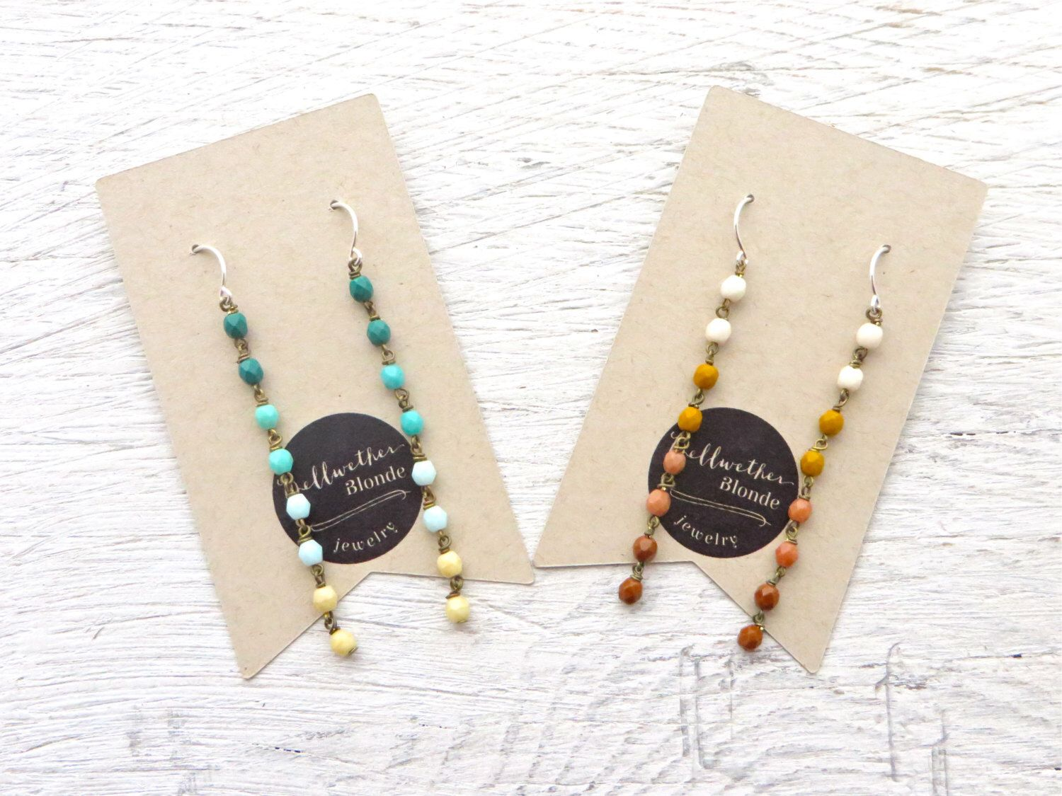 A personal favorite from my Etsy shop https://www.etsy.com/listing/253679237/jewelry-gift-set-bff-gift-set-earrings