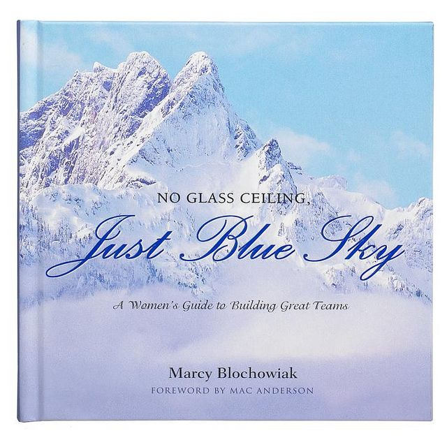 No glass ceiling just blue sky a womans guide to building no glass ceiling just blue sky a womans guide to building great teams by marcy blochowiak this inspirational gift book is a blueprint for any womans malvernweather Images