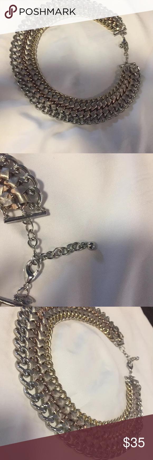 Express Choker Choker Rose gold and Jewelry