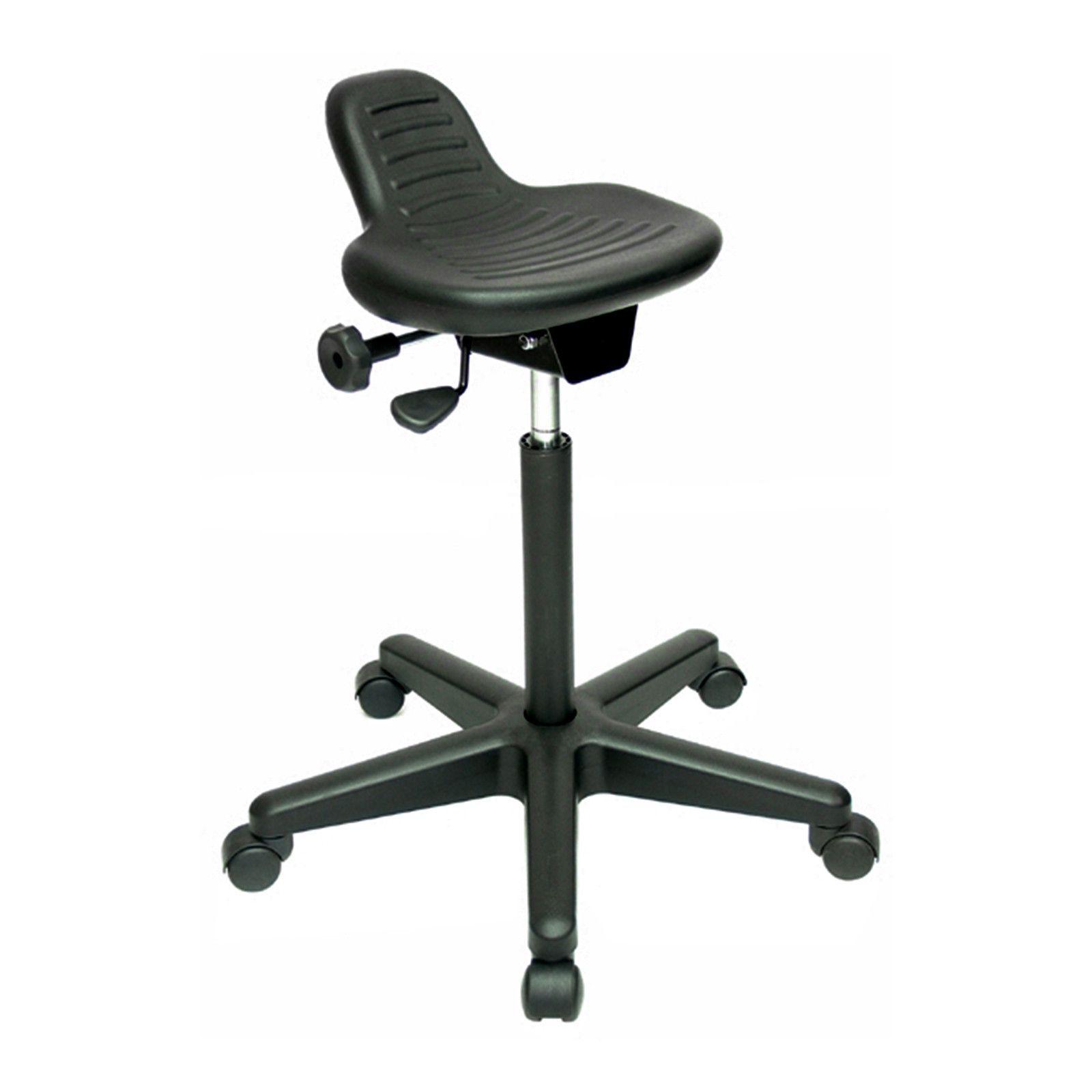 Werk AX Sit Stand Ergonomic Stool By Jobri; BP1470BK