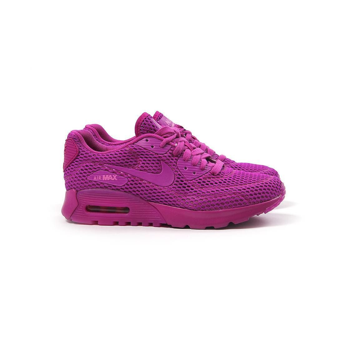7aa6f462b597 Repost  The  Nike Women s  AirMax 90 Ultra BR in Hyper Violet is now  available online.  cncpts by cncpts