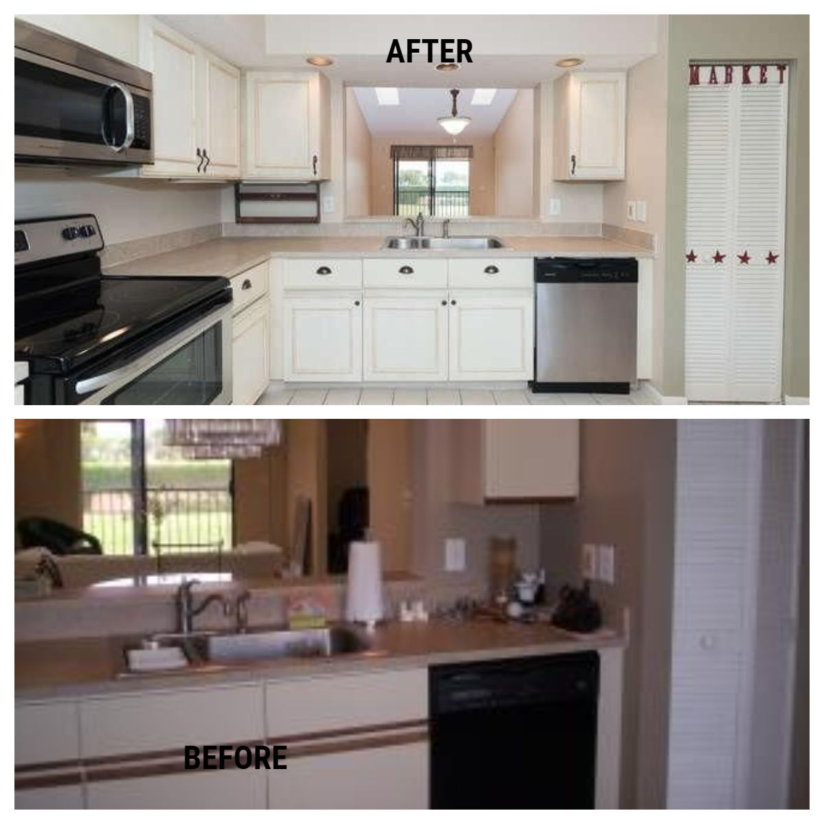 Diy Painting Kitchen Cabinets Before After Kitchen Cabinets In Bathroom Painting Kitchen Cabinets Diy Kitchen Cabinets Painting