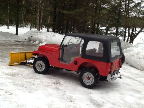 1959 Willys CJ-5 - Photo submitted by Bud Heinrich.