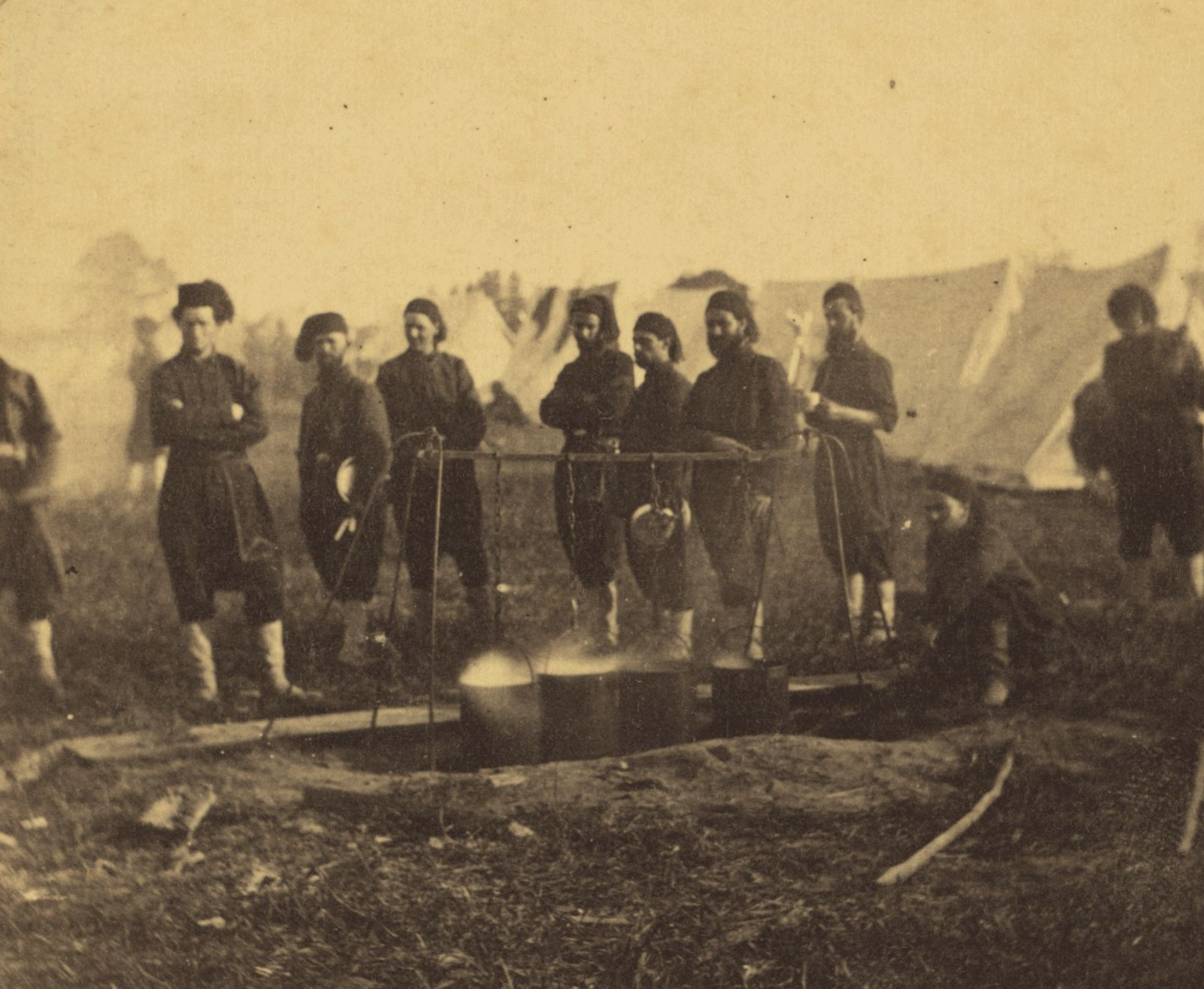 Life of a volunteer in union army in boston