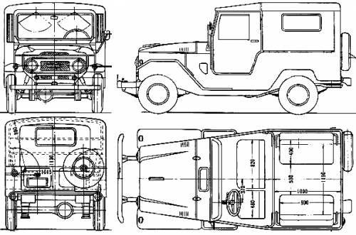 fj40 frame dimensions - page 6