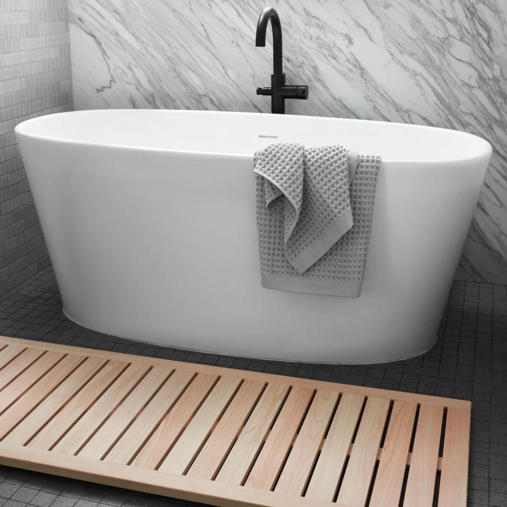 Hinoki Wood Bath Runner Modern Wooden Bath Mat The Citizenry In 2020 Wood Bath Hinoki Wood Wooden Bathmat