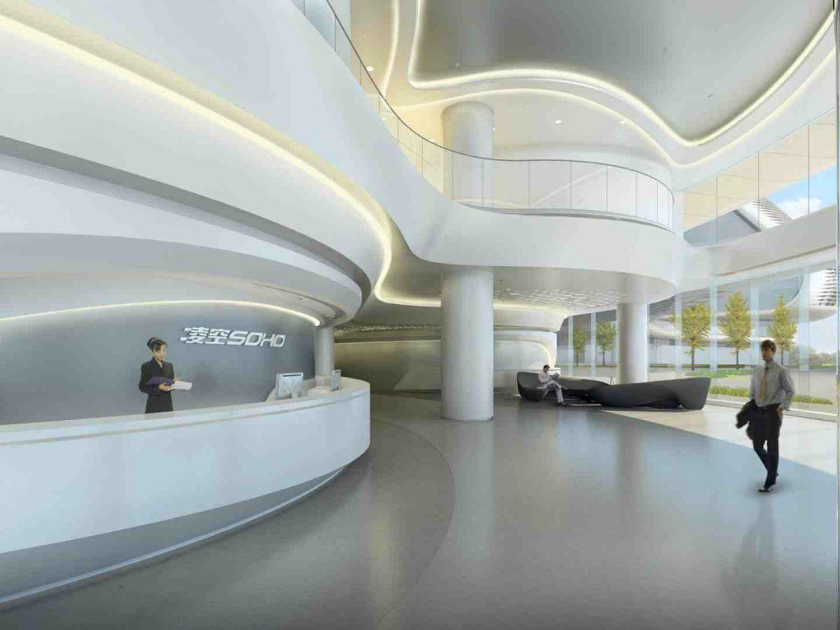 Linkong Soho Building Zaha Hadid Architects Zaha Hadid Design