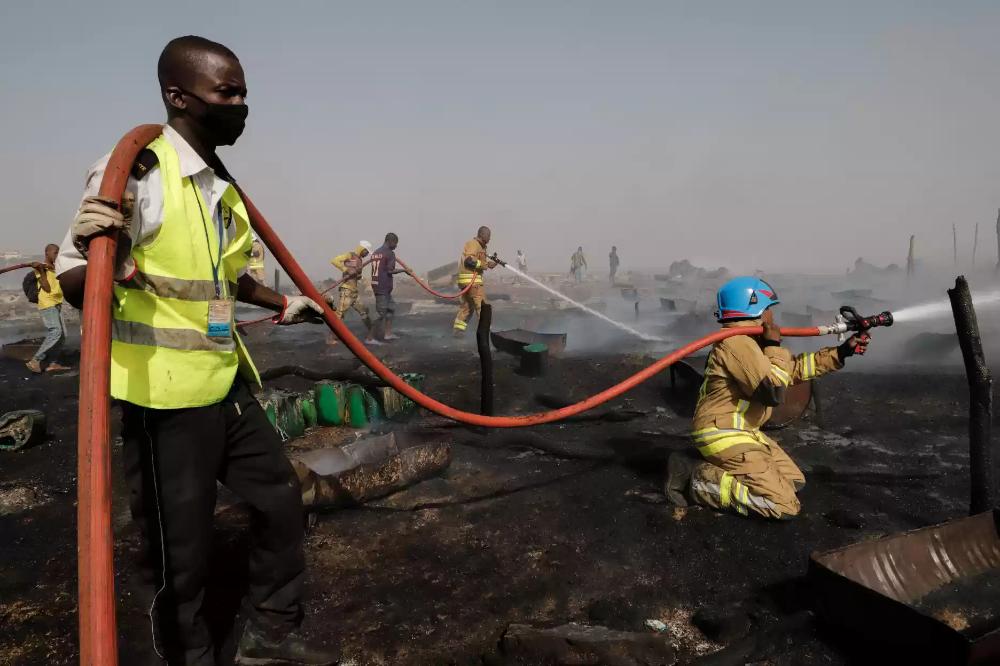 Au Mali, un camp de déplacés est parti en fumée à Bamako