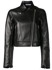 Fleece Bonded Moto Jacket