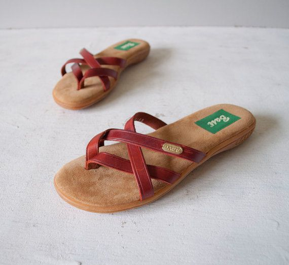 fac81115e52eb3 Bass Sandals -- Everyone had these in the early  80s! I do!  ) my mom use  to wear these