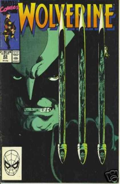 John Byrne-Wolverine 23 great cover!