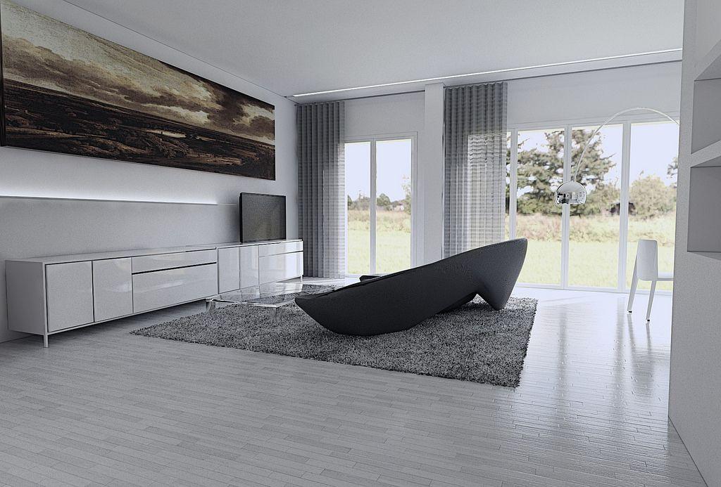 Browse interior design ideas for a grey