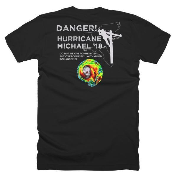 Hurricane Michael Lineman Storm Shirt - Line Love Co