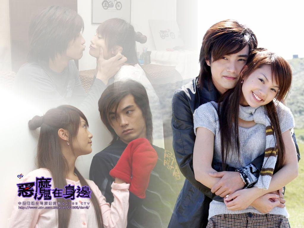 Devil Beside You (Taiwanese Drama 2005)- Rainie Yang. hmmm sounds interesting, Rainie Yangs character likes the bad boy in school. hahaha