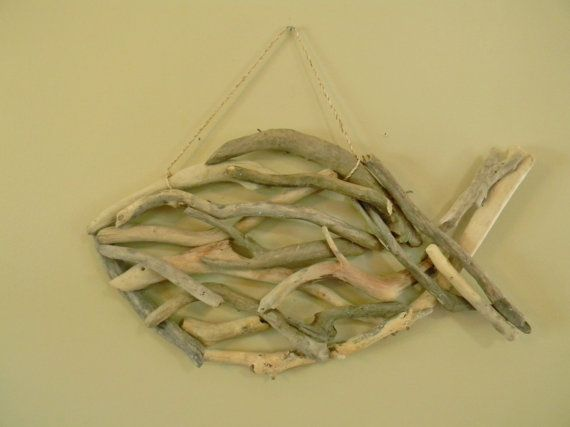 Large Driftwood Fish, Driftwood Decor, Beach Wall Decor, Coastal ...