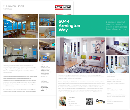 Design Your Own Featured Real Estate Flyers Downloads  Real