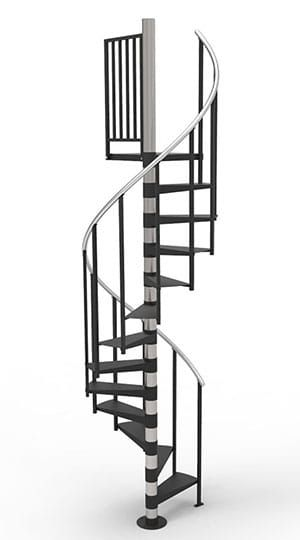 Best The Diy Spiral Stair With Images Staircase Design 400 x 300
