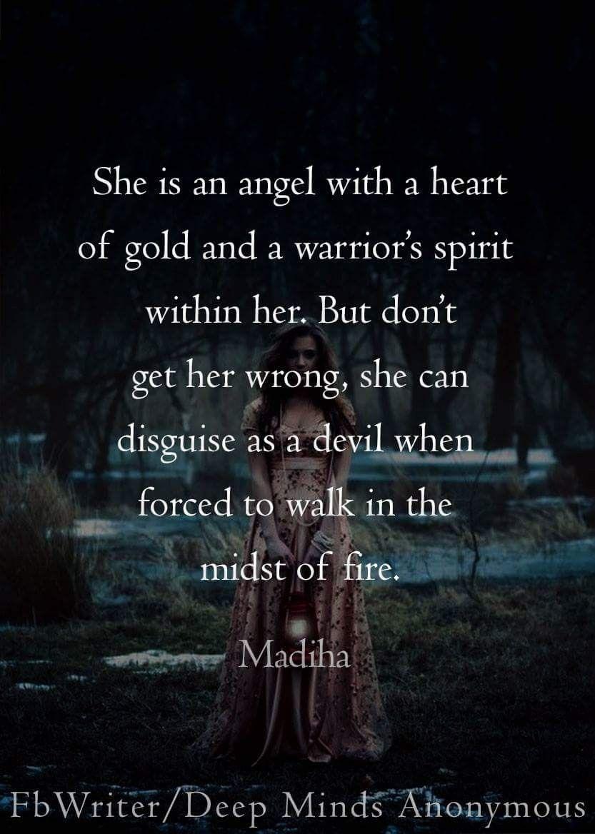 Heart Of Gold And Warriors Spirit Madiha Yaya Tides Spirit