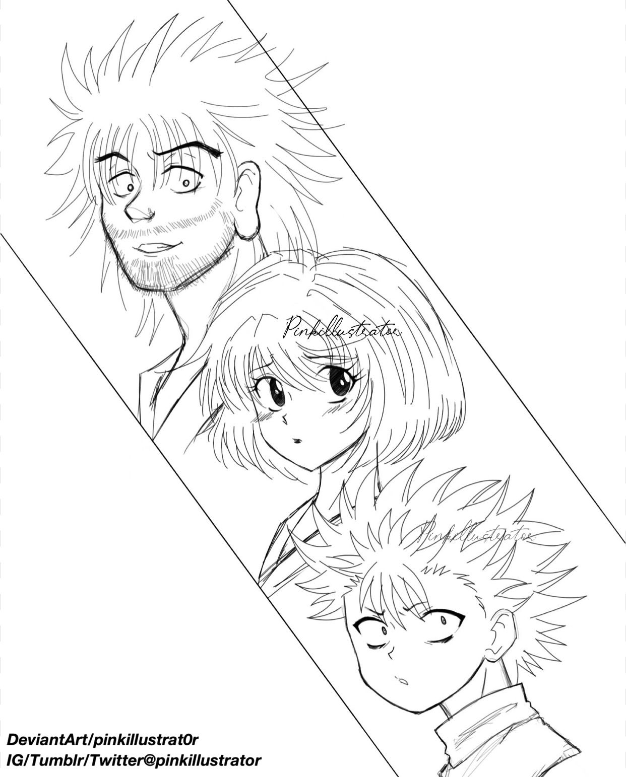 Isaac Netero Zzigg Zoldyck Linnet Audoble Hunter X Hunter Manga Love Art Cool Artwork