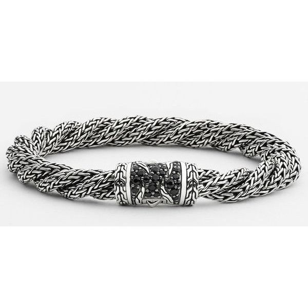 John Hardy Classic Chain Lava Medium Twisted Chain Bracelet TUGPx