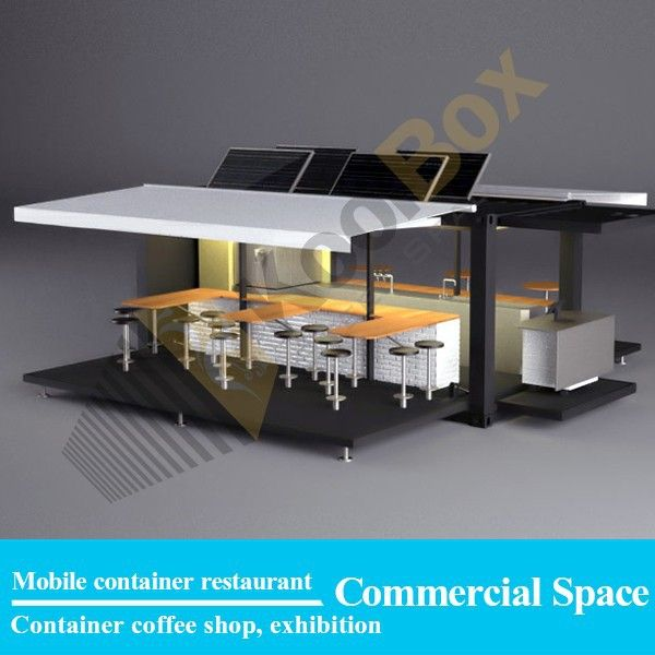Kitchen Storage Containers For Sale: Source Koolbox Fast Food Kiosk Design, Mobile Kitchen For