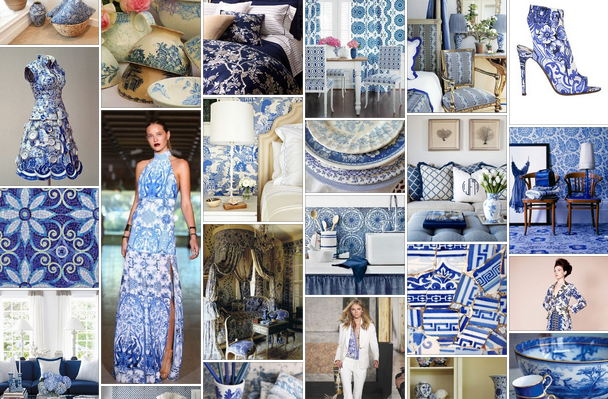 Home Decor Trends 2014 | ... Home Decor Color 2014 Blue & White Inspiration Board | The Decorating