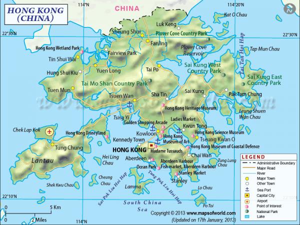 Hong kong map travel maps pinterest hong kong map gumiabroncs Images