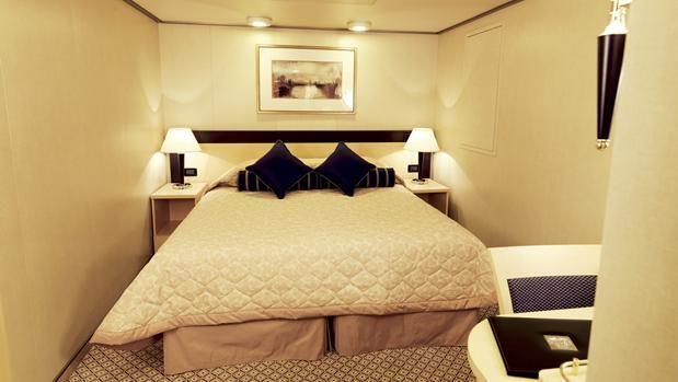 Queen Victoria Cruise Ship Britannia Inside Stateroom Cunard - Tracking queen victoria cruise ship