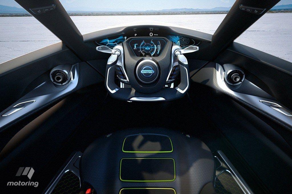 Tokyo Motor Show Nissan Bladeglider Electric Car Concept Concept Cars Nissan