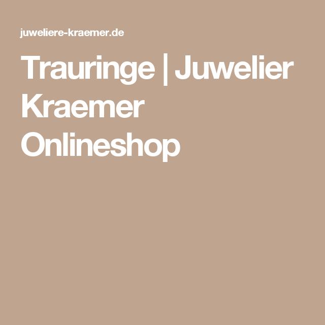 Trauringe Juwelier Kraemer lineshop Trauringe