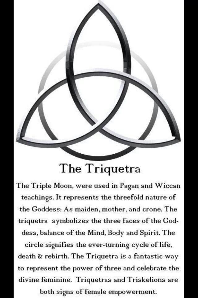 Image Result For Triquetra Meaning Feeling A Little Witchy