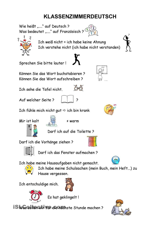 Kommunikation im Deutschunterricht | German, German language and ...