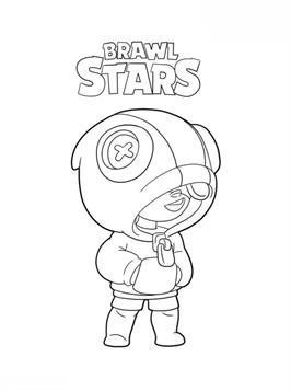 Kids N Fun Com 26 Coloring Pages Of Brawl Stars Star Coloring Pages Cool Coloring Pages Coloring Pages